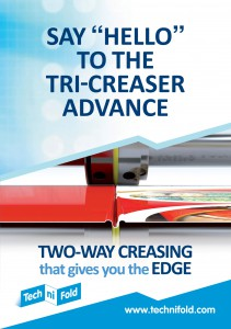 Tri-Creaser Advance new creasing technology brochure